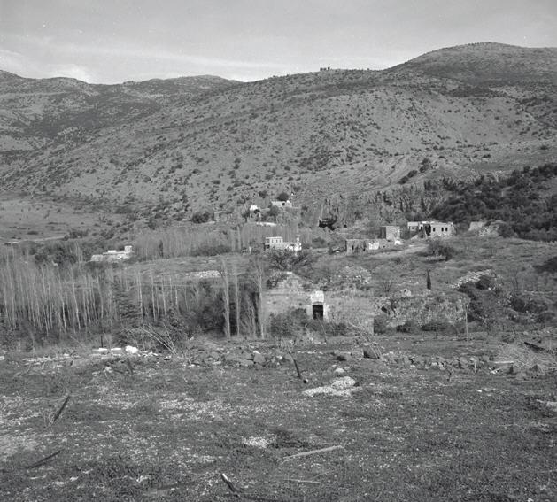 البيوت قبل تدميرها
