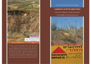 Landmines in the Occupied Golan